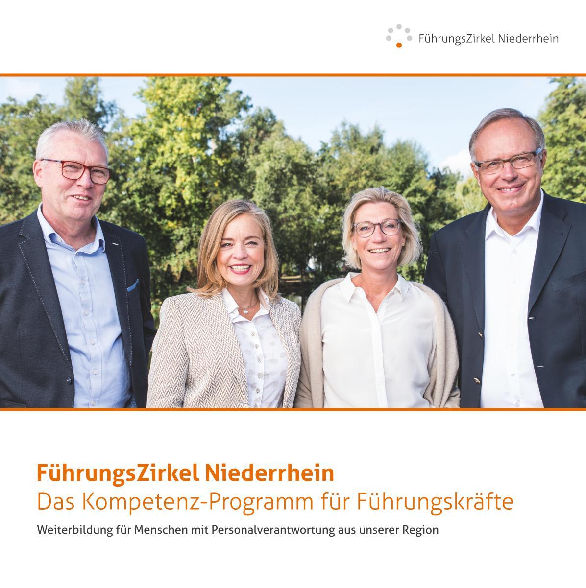 Titelseite Prospekt Führungszirkel Niederrhein: Das Kompetenz-Programm für Führungskräfte